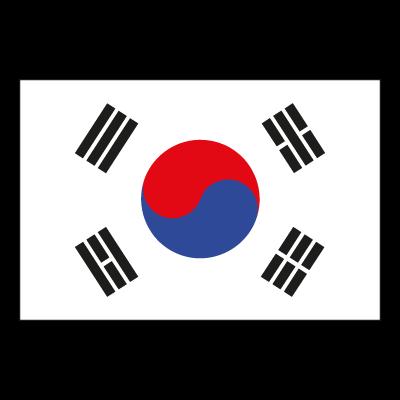 Flag of South Korea vector logo