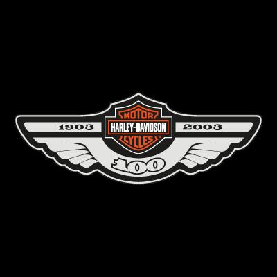 Harley Davidson 100 vector logo