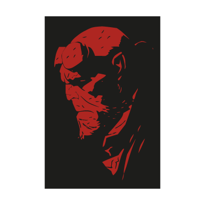 Hellboy Art vector