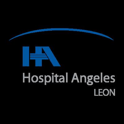 Hospital angeles Leon vector logo