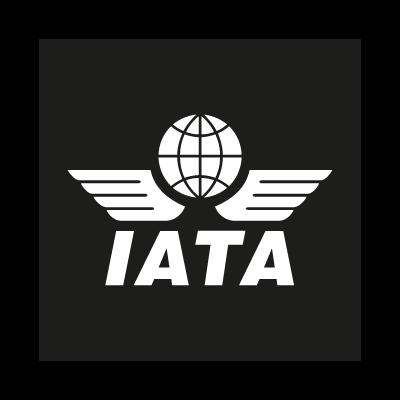 IATA black vector logo
