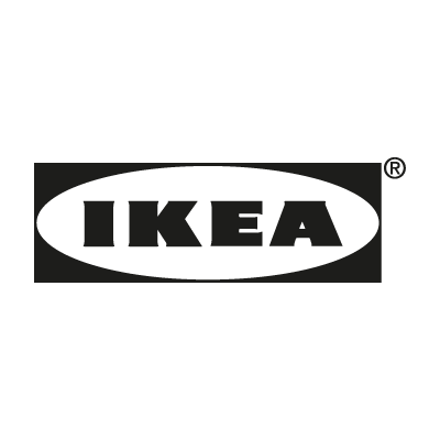IKEA black vector logo