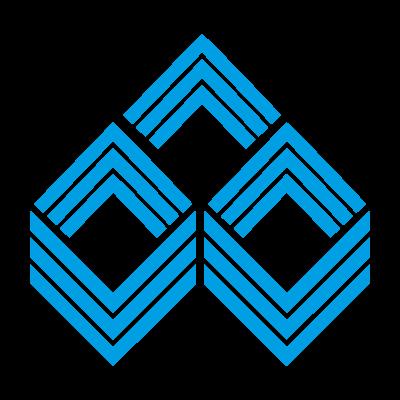 Indian overseas bank vector logo