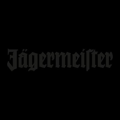 Jagermeister black vector logo