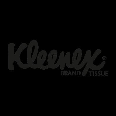 Kleenex black vector logo