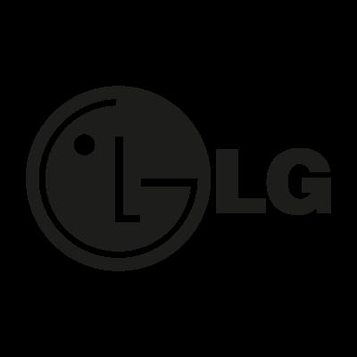 LG black vector logo