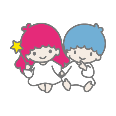 Little Twin Stars vector