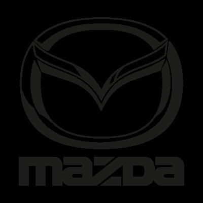 Mazda black vector logo