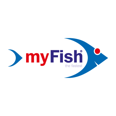 My fish vector logo