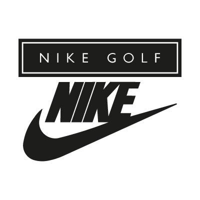 Nike Golf black vector logo