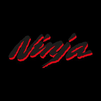 Ninja Kawasaki Old vector logo