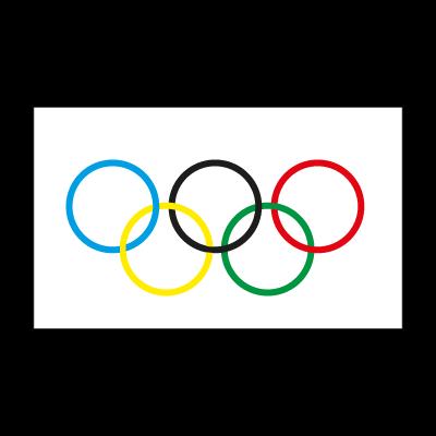 Olympic Flag vector logo