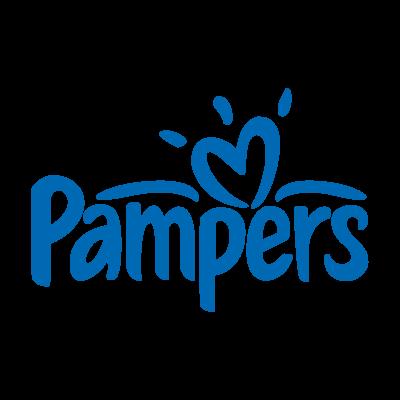 Pampers baby vector logo