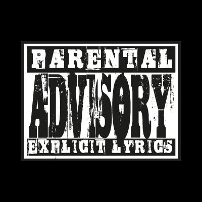Parental Advisory lyrics vector logo