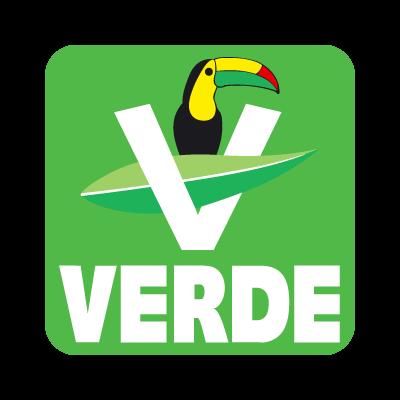 Partido verde ecologista vector logo