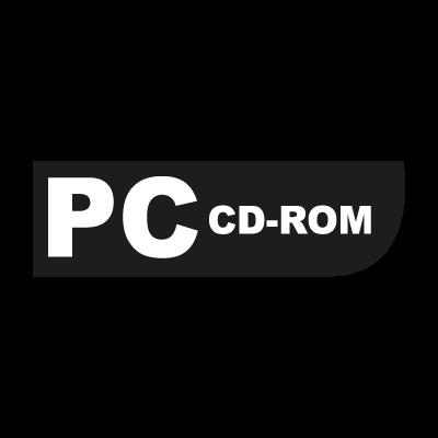 PC CD-ROM (game) vector logo