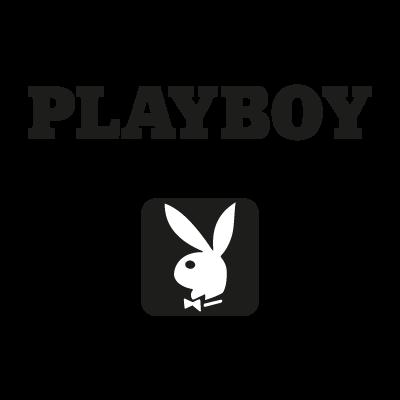 Playboy black vector logo