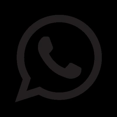 WhatsApp logo symbol vector