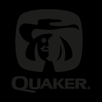 Quaker black vector logo