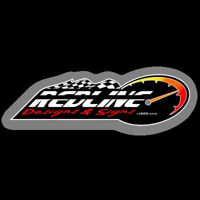 RedLine Designs & Signs vector logo