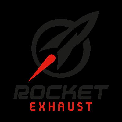 Rocket Exhaust vector logo