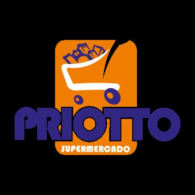 Supermercado priotto vector logo