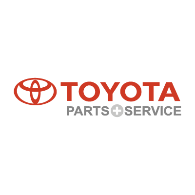 Toyota Parts & Service vector logo