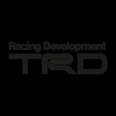 TRD black vector logo