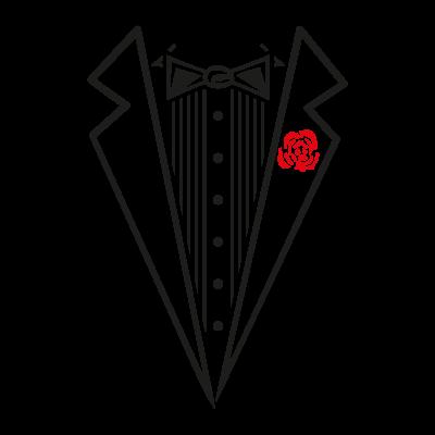 Tuxedo Shirt vector logo