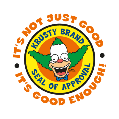 The Simpsons (Krusty Brand) vector logo