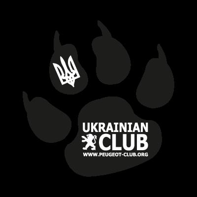 Ukrauian peugeot club vector logo