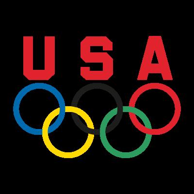 USA Olympic Team vector logo