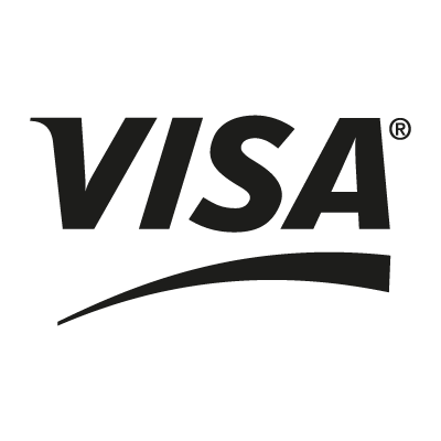VISA Black vector logo