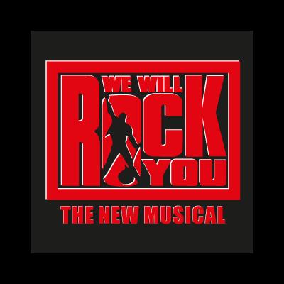 We will rock you vector logo