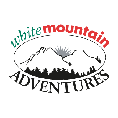 White Mountain Adventures vector logo