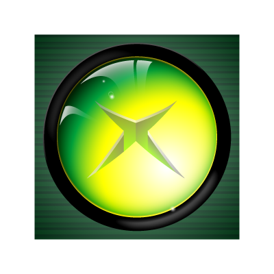 XBOX Button vector logo
