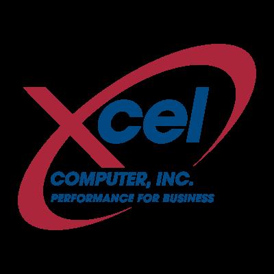 Xcel Computer vector logo
