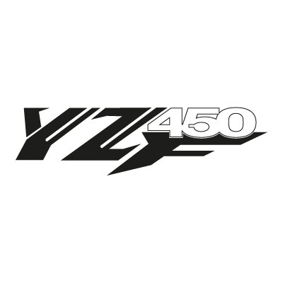 YZ 450 F vector logo