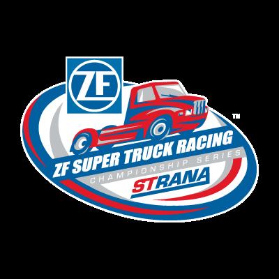 ZF Super Truck Racing vector logo