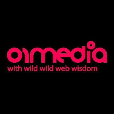 01media 2007 vector logo