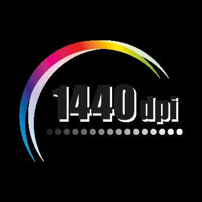 1440 dpi vector logo