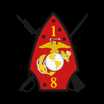 1st Battalion 8th Marine Regiment vector logo