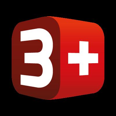 3 Plus TV Network AG vector logo