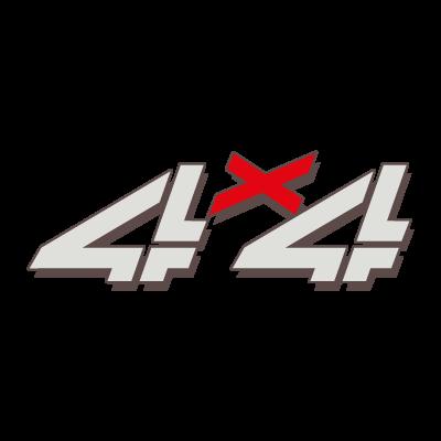 4X4 GMC vector logo