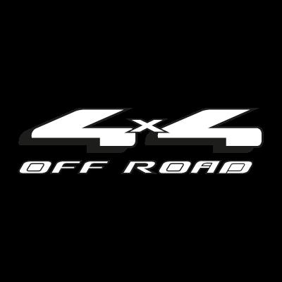4x4 Off Road vector logo