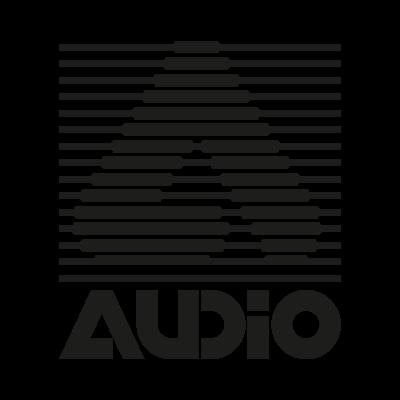 A Audio vector logo