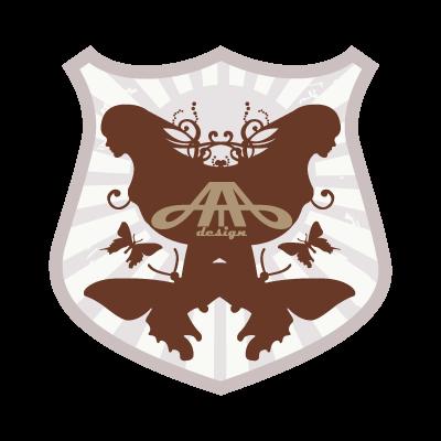 A de T-bar vector logo
