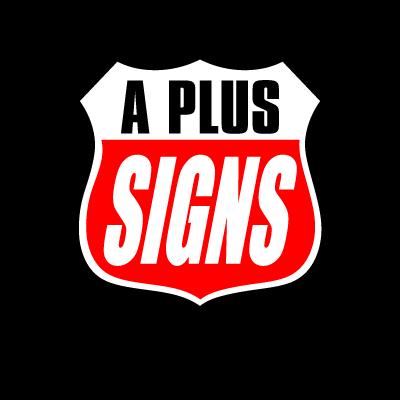 A Plus Signs vector logo
