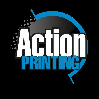 Action Printing vector logo
