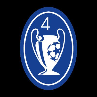 Ajax Champions Badge vector logo